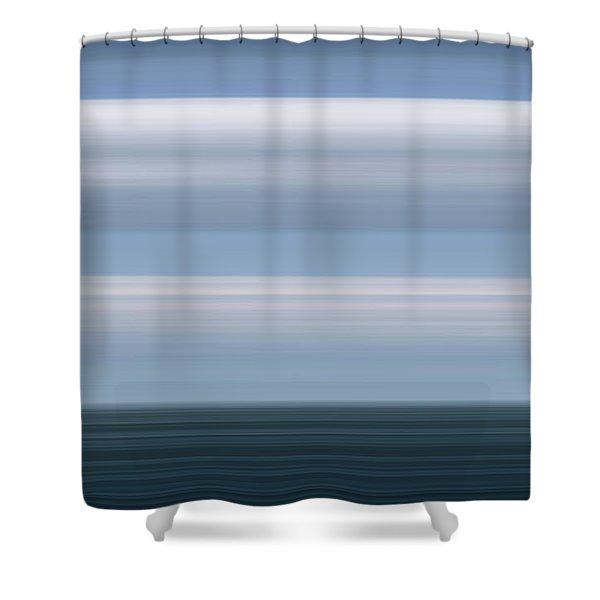 On Sea Shower Curtain