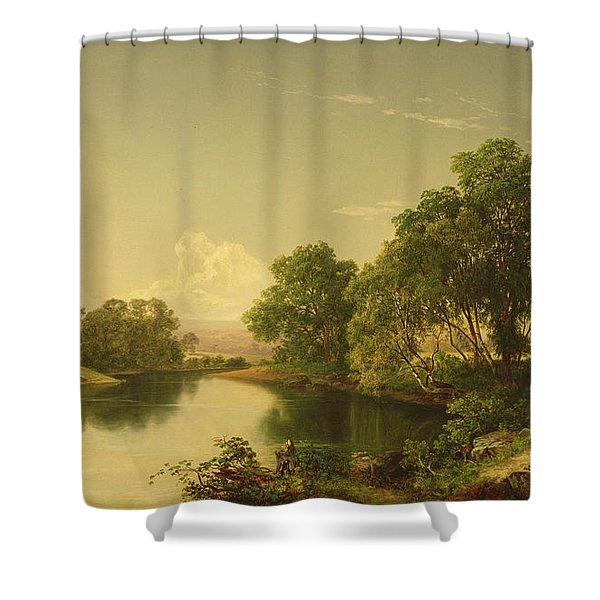 On The Esopus Creek, Ulster County, Ny Shower Curtain