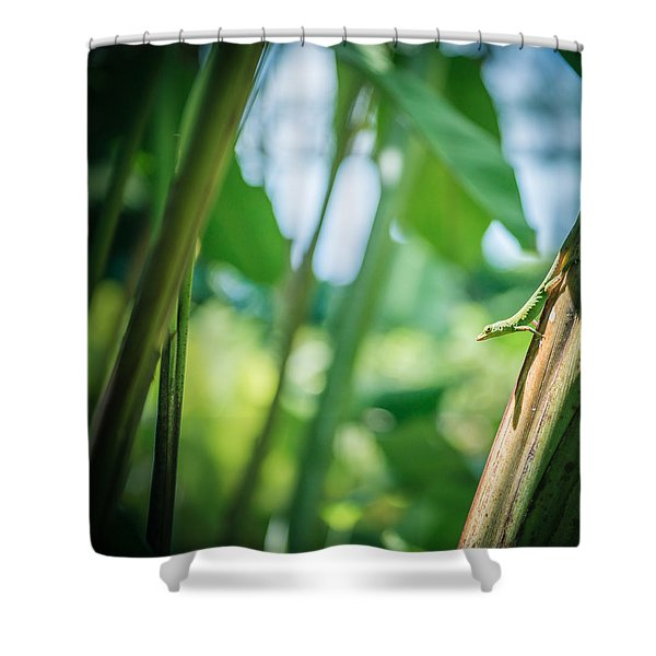 On The Guard Shower Curtain