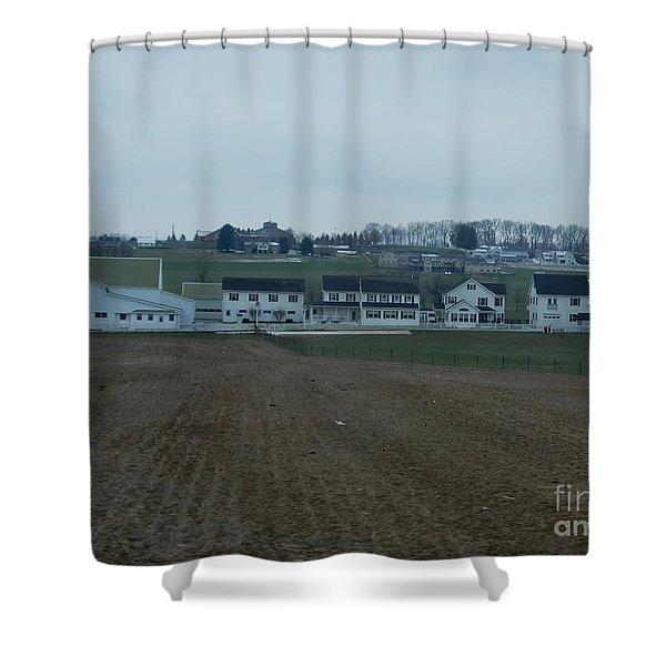 On The Homestead Shower Curtain