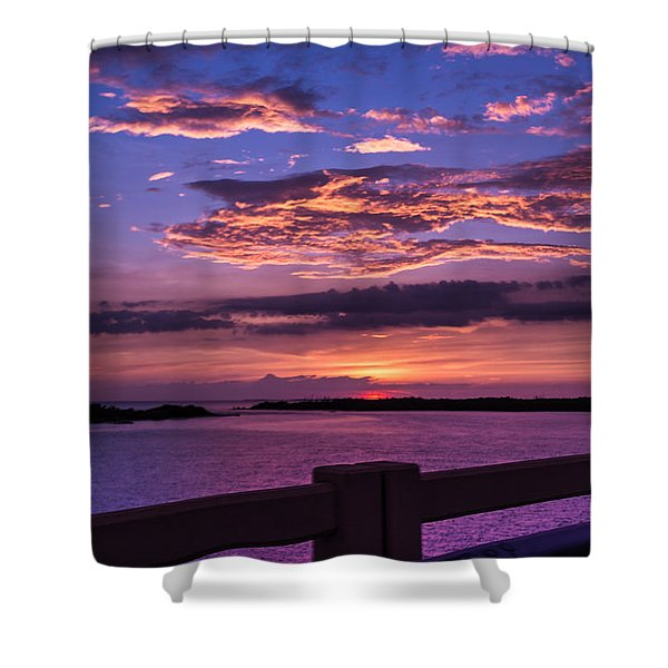 On The Road To Sanibel Shower Curtain