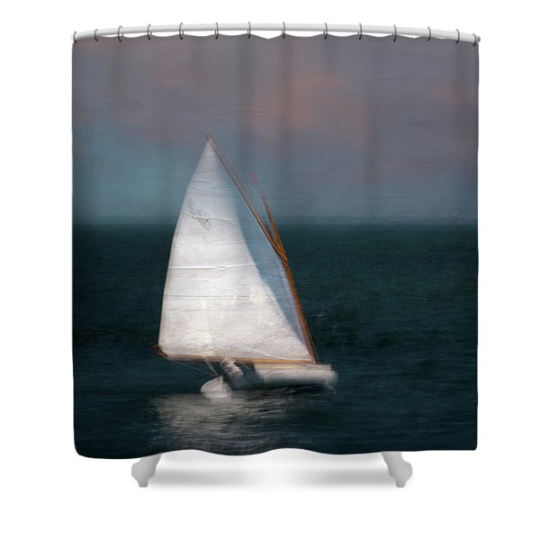 On The Sound 2 Shower Curtain