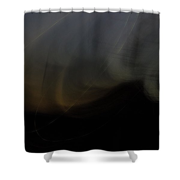 On The Waves Shower Curtain