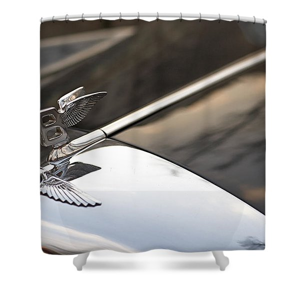 On The Wings Shower Curtain