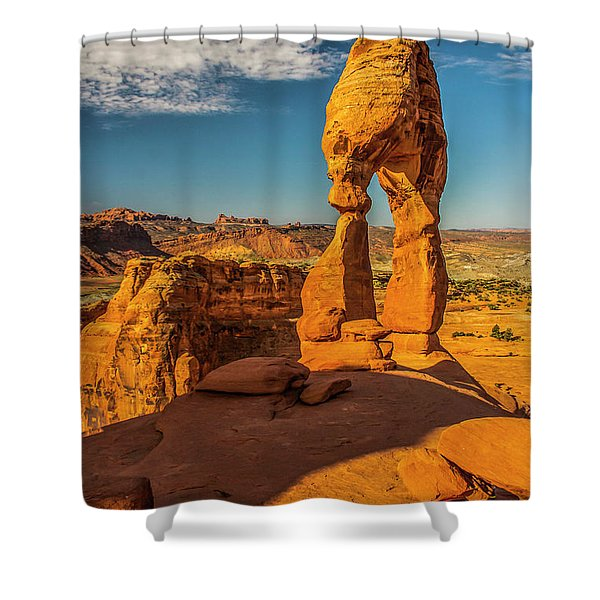 On This New Morning Shower Curtain