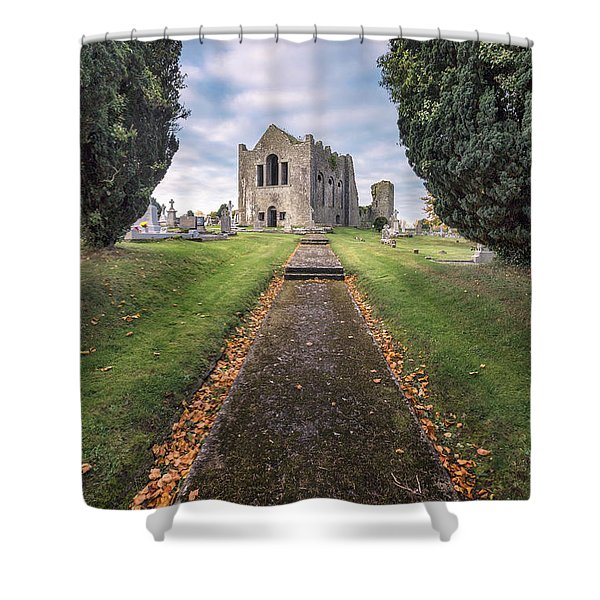 On To Forever Shower Curtain