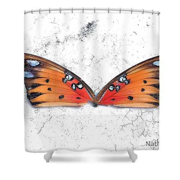 Once Flown Shower Curtain