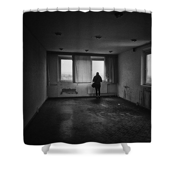 Once There Was A Place To Live And To Shower Curtain