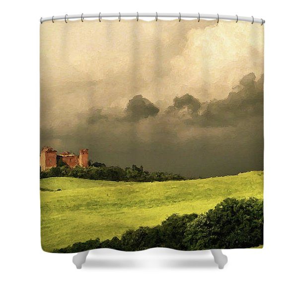 Once Upon A Time In Tuscany Shower Curtain