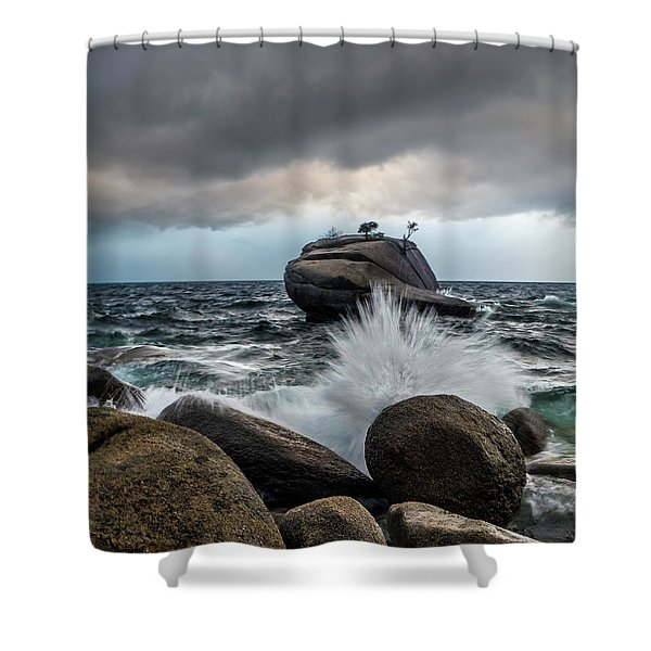 Oncoming Storm Shower Curtain