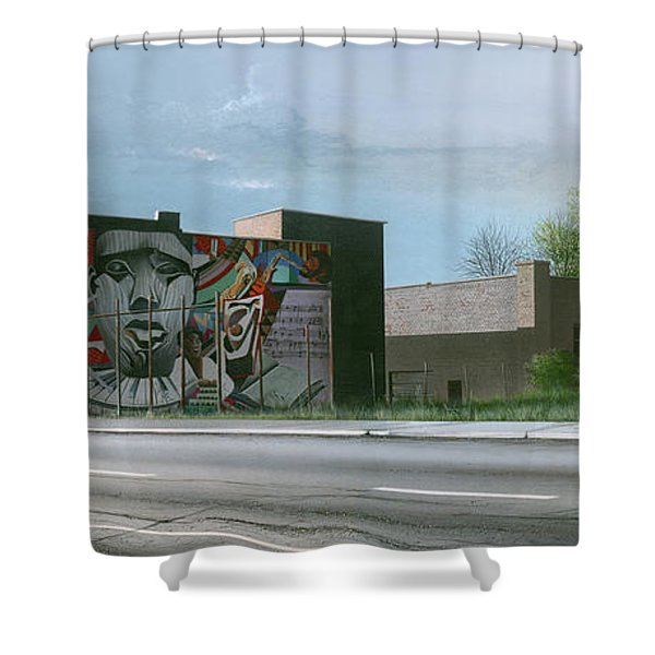 One Artist To Another Shower Curtain