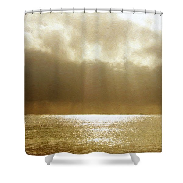 One Boat Shower Curtain