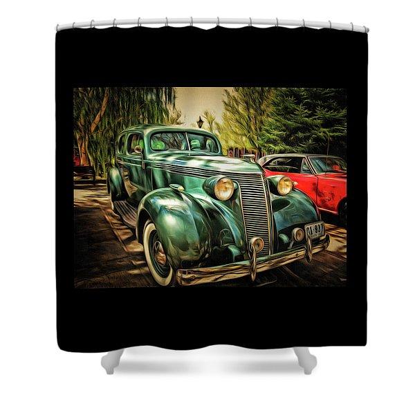 One Cool 1937 Studebaker Sedan Shower Curtain