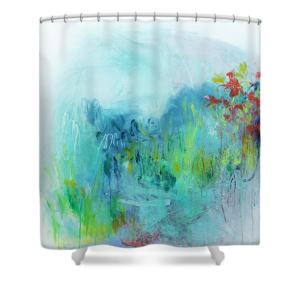One Day I Remembered Shower Curtain