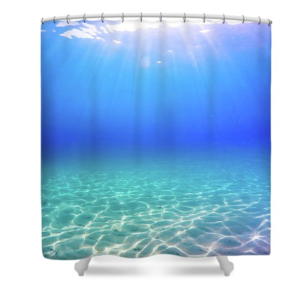 One Deep Breath Shower Curtain
