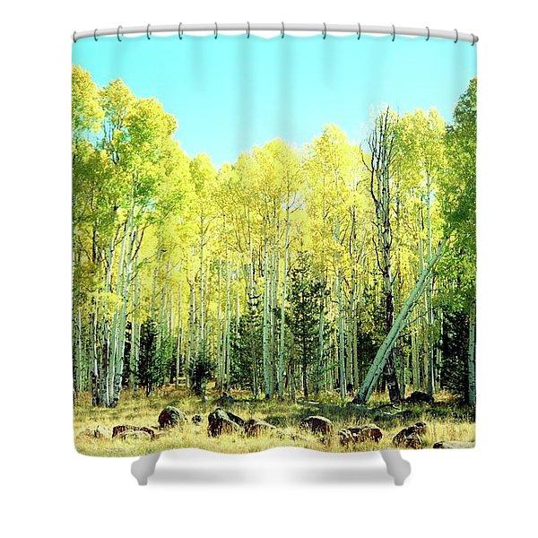 One Drunk Tree Shower Curtain