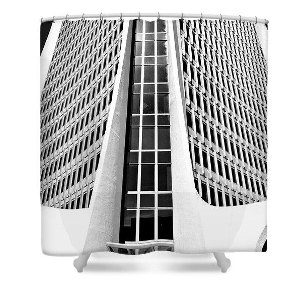 One Landmark Square Shower Curtain