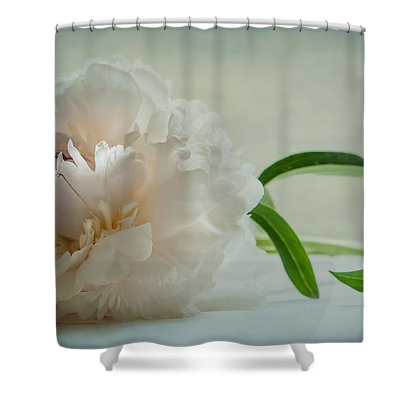 One Last Bloom Shower Curtain
