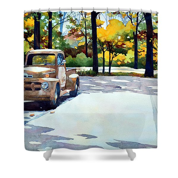 One Last Ride Shower Curtain