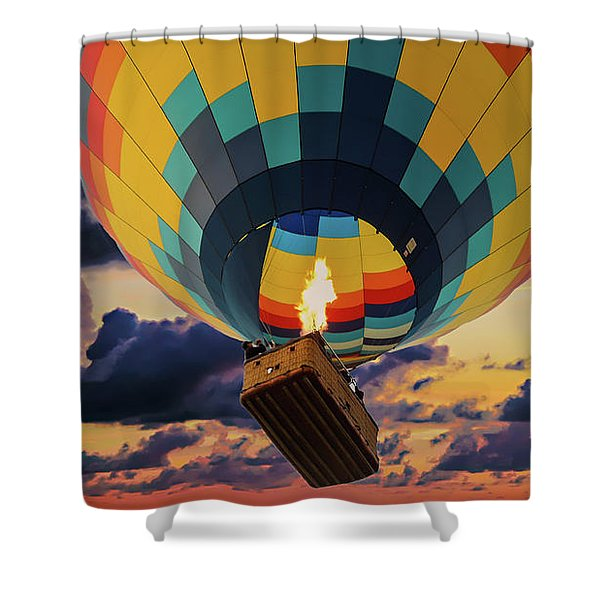 One Morning In Napa Valley Shower Curtain