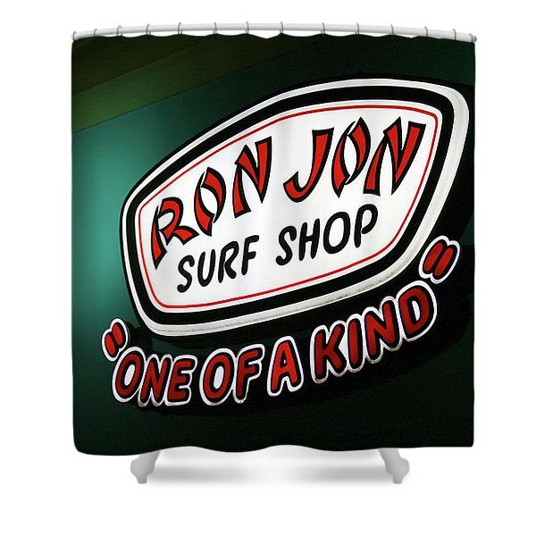 One Of A Kind Surf Shop Shower Curtain