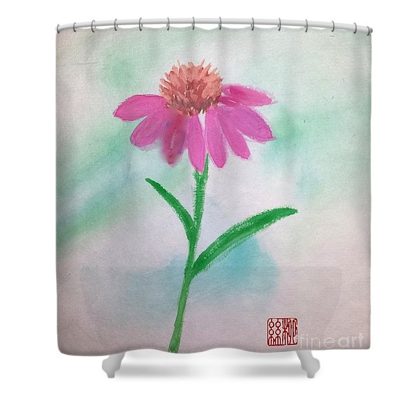 One Petal At A Time Shower Curtain