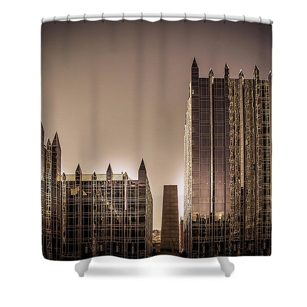 One Ppg Place Building Shower Curtain