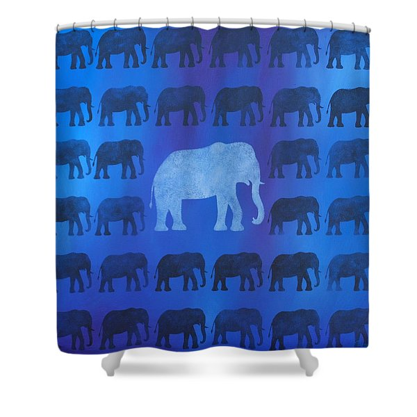 One Thousand Goodbyes Shower Curtain