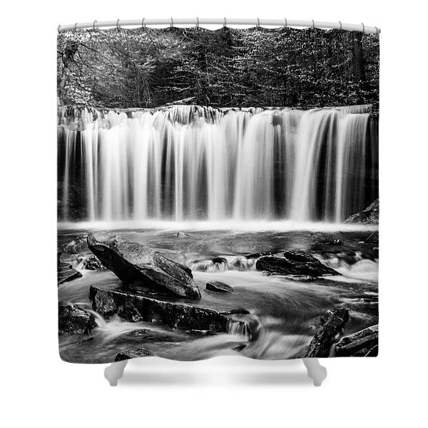 Oneida Falls - 8655 Shower Curtain