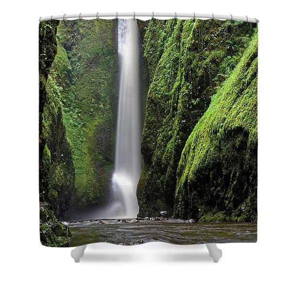 Oneonta Portrait Shower Curtain