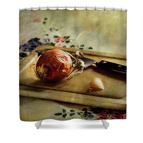 Onion Shower Curtain