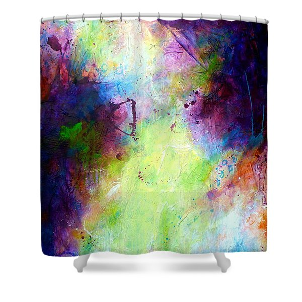 Only Time Will Tell Shower Curtain