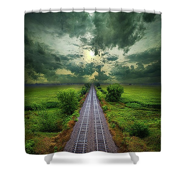 Onward Shower Curtain
