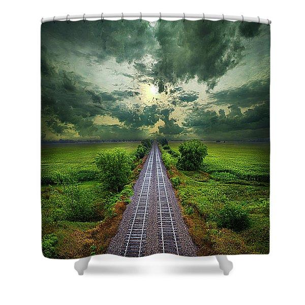 Onward Shower Curtain