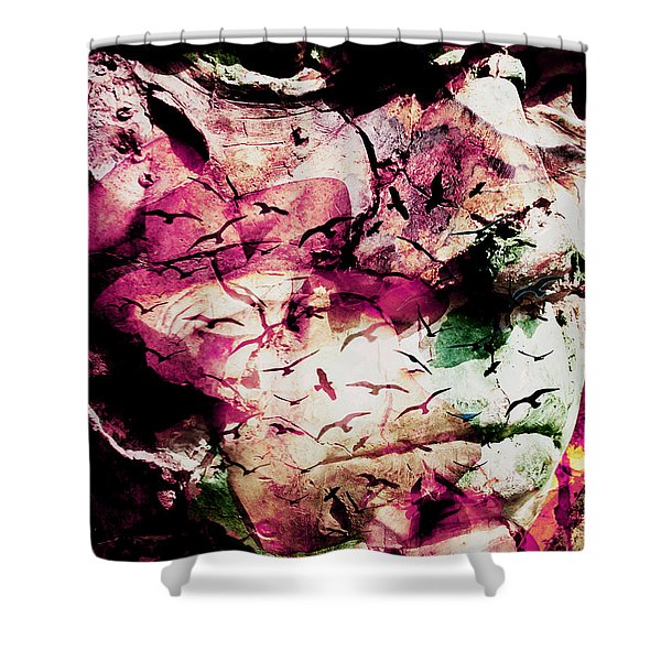 Onyourmind Shower Curtain