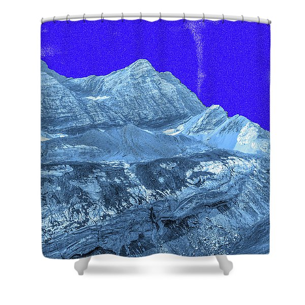Opalescent Light  Shower Curtain