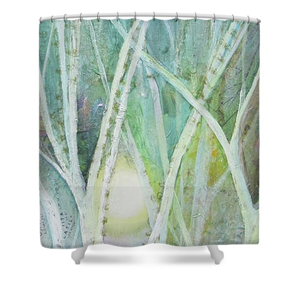 Opalescent Twilight II Shower Curtain