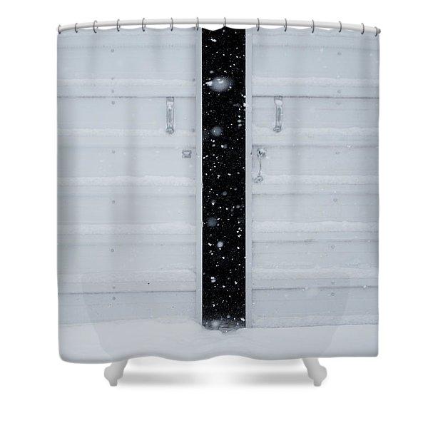 Open Door Shower Curtain