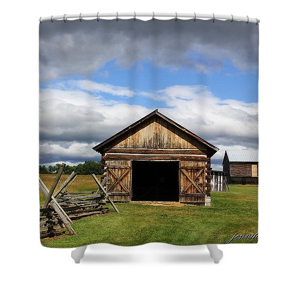 Open Doors Shower Curtain