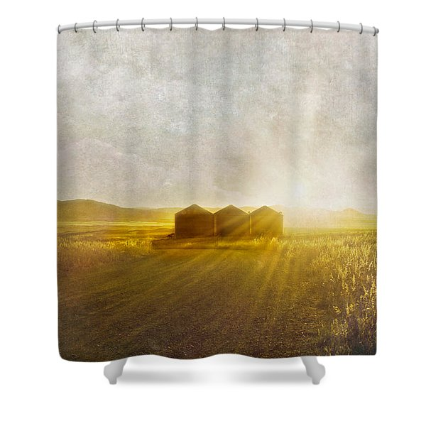 Open Spaces Shower Curtain