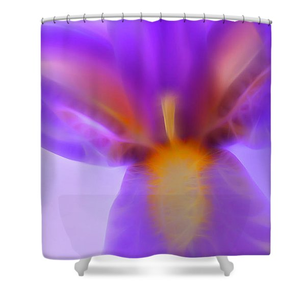 Open To Love Shower Curtain