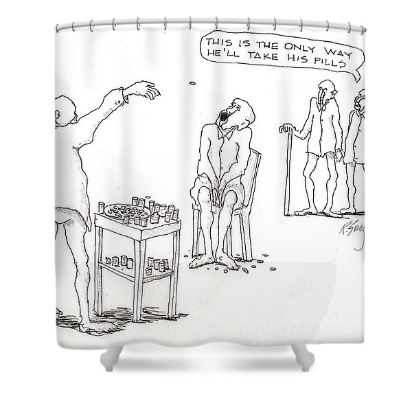 Open Up Shower Curtain