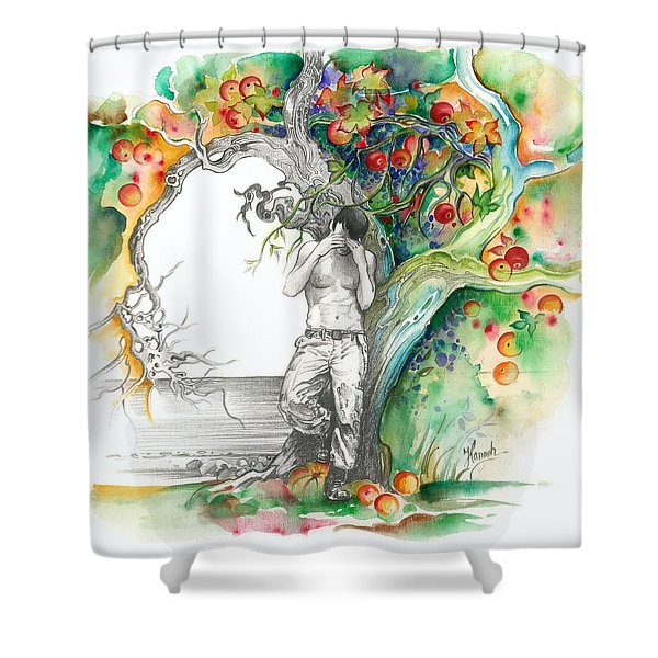 Open Your Eyes -the World Is Changing Shower Curtain