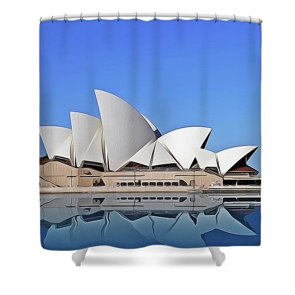 Opera House Shower Curtain