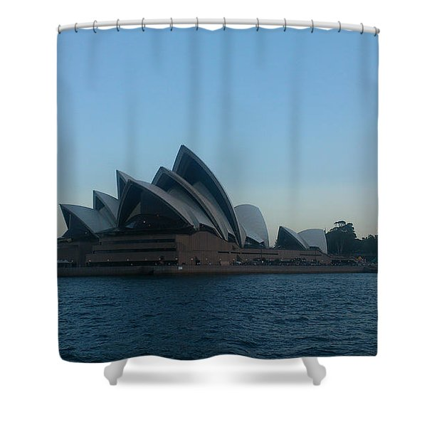 Opera House View Shower Curtain