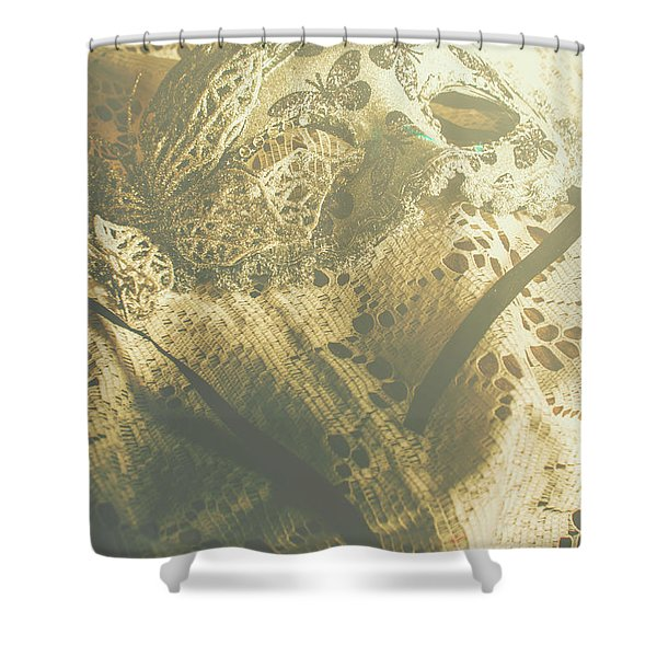 Operatic Art Shower Curtain