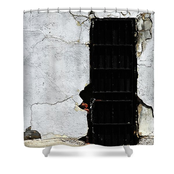 Opportunity Knocked Shower Curtain