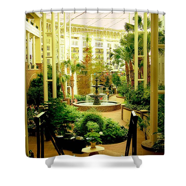 Opryland Hotel Shower Curtain