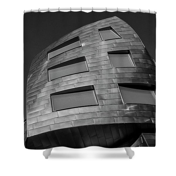 Optical Conclusion Shower Curtain
