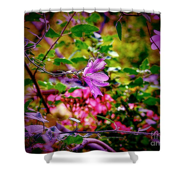 Opulent Lily Shower Curtain